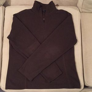 Lands End Qtr Zip Fleece